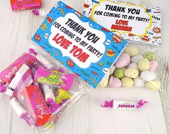 Pre Filled Party Bags - party bags - goodie bags - birthday party bags - party bag treats
