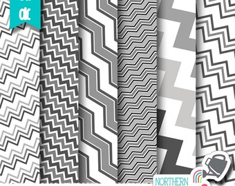 Chevron Layered Photoshop Templates – crazy chevron paper templates for scrapbook kit design – layered psd templates - commercial use