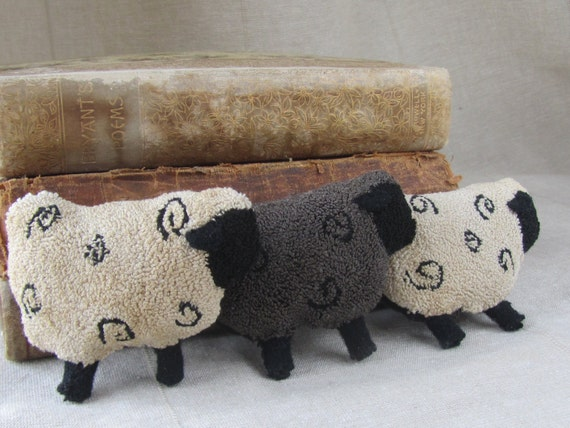 Black Sheep of the Family Punch Needle Pattern