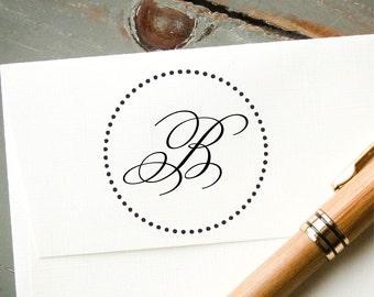 Custom Rubber Stamp, Monogram Stamp, Custom Monogram, Personalized Stamp, Custom Stamp, Address Stamp - New Couple, Wedding Gift