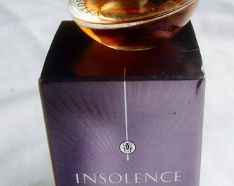 "Miniature ""GUERLAIN insolence"" fragrance, perfume woman, 4 ml, 0,13 Fl.Oz, in its original box, full bottle"
