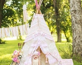 KIDS TEEPEE, play tent, childrens teepee, teepee tent, kids tent, playhouse, play teepee, kids teepee tent, kids play tent, 6ft