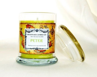 Peter 8 oz palm wax candle Disney inspired