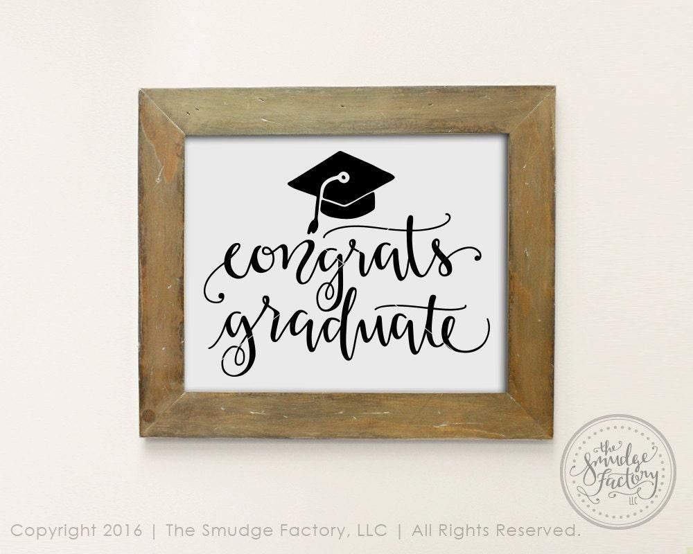 Congrats Graduate Svg Class Of 2016 Svg Cut File