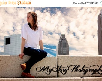 25% off Blue Sky With Clouds Photoshop/Elements Overlays