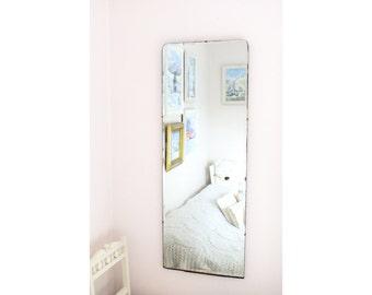 Extra Large Antique Mirror Vintage Mirror Bevel Mirror Art Deco mirror frameless mirror  M158