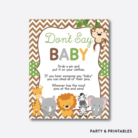 baby shower pin game safari baby games jungle baby shower games sbs