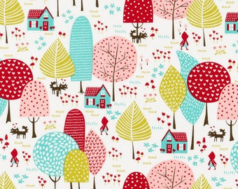 Lil Red Forest from Moda Fabrics