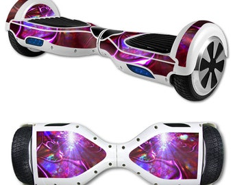 Skin Decal Wrap for Self Balancing Scooter Hoverboard unicycle Crimson Trip