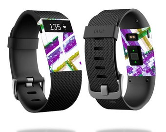 Skin Decal Wrap for Fitbit Blaze, Charge, Charge HR, Surge Watch cover sticker Modern Plaid