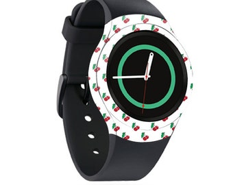 Skin Decal Wrap for Samsung Gear S2, S2 3G, Live, Neo S Smart Watch, Galaxy Gear Fit cover sticker Cherry Bomb