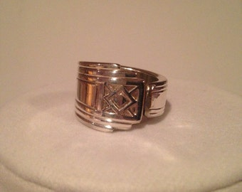 Silverware Ring size 8.5