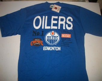 Edmonton Oilers 1990 t shirt  BRAND NEW with tags!