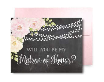 Will You Be My Bridesmaid Card, Bridesmaid Maid of Honor Gift, Will You Be My Maid of Honor, Matron of Honor, Brides Man, Flower Girl #CL170