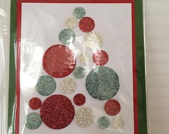 Christmas Tree circles