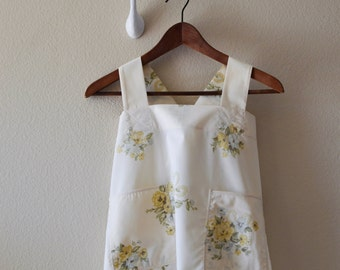 Children's Recycled Vintage Floral Apron
