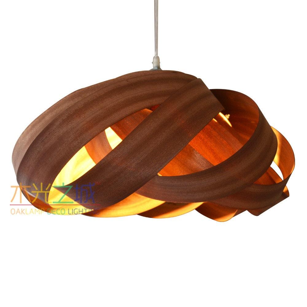 Pendant Light//Unique Nest Pendant LightSapele