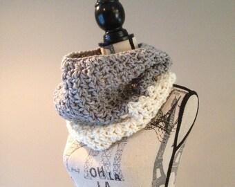 Crochet Cowl, Crochet Chunky Cowl, Cowl, Women's Cowl, Ready to Ship