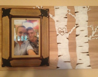 Decorative Hand-painted Picture Frame