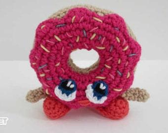 Unicorn Donuts Pdf Pattern Amigurumi Crochet From
