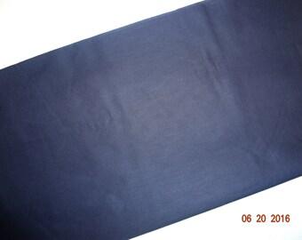 "1 3/4 Yards Cotton Club Navy lightweight fabric - 44"" wide"