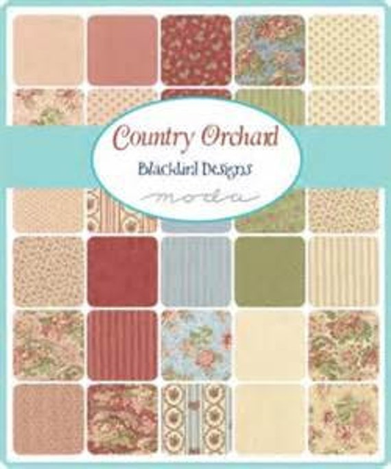 Items similar to new country orchard 84 piece english for Blackbird designs english garden