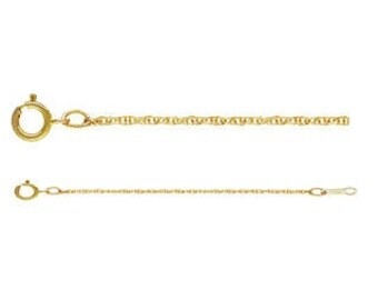 """Gold Filled Rope Chain 1 MM 20"""" - CHR-20-GF"""