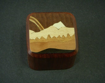 Paper weight office Paperweight Wood Inlay Handmade in USA 9
