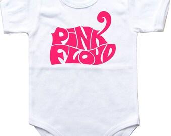 Baby bodysuit Pink Floyd 2 rock hard funk One Piece Bodysuit Funny Baby Child boy girlen's Clothing Kid's Shower boy girl