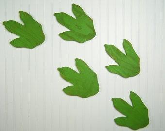 Dinosaur Decor Wooden Dinosaur Footprints Dinosaur Nursery Art Baby Nursery Decor Dinosaur Birthday Gift Dinosaur Tracks Kids Room Decor