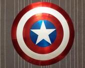 """Captain America Shield Comic Style """"Upgrade"""""""