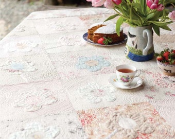 Picnic Flowers Quilt Pattern Download 884184