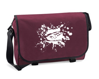 Subaru Mud Splat Men's Messenger Bag