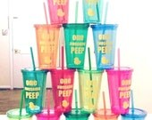 respiratory therapist cup - RT cup - PEEP cup - Easter cup