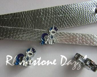 Rarity Pony Slide Charm, Fits on 8mm Bracelets, My Little Pony Slide Charm, 8mm Slide Charms, DIY Jewelry, Personalized jewelry, Slider