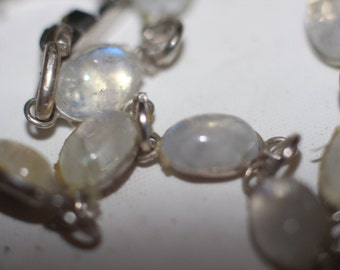 moonstone bracelet 7 inches long