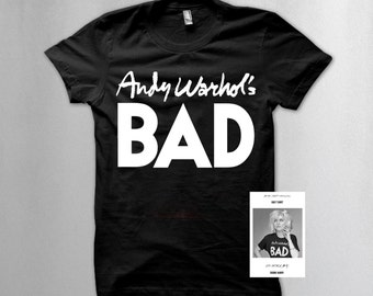 Andy Warhol t shirt as worn by Debbie Harry