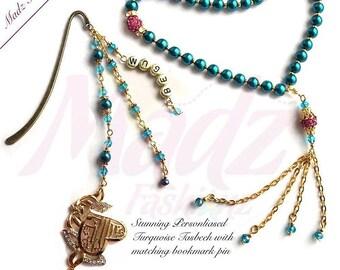 Prayer Beads Worry Beads Tasbeeh Tasbih 6mm white Pearsonlised Pearls name Beads Handmade muslim guide ramadan hajj eid gift bookmark pin