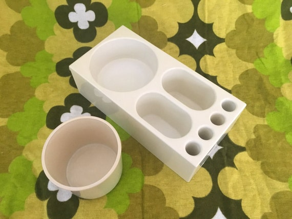 Gedy Toothbrush Holder and Cup by Makio Hasuike