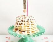 cake topper -number/letter