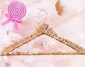 Gold Sequin hanger