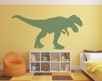Wall Decals Stickers T Rex x 4 - 1 to 20 inches high Bedroom Nursery Wall Large Wall Art
