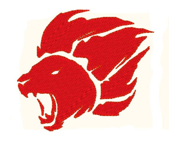 symbol of the lion guard badge embroidery design