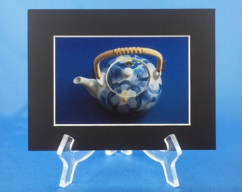 Japanese matted photo - teapot