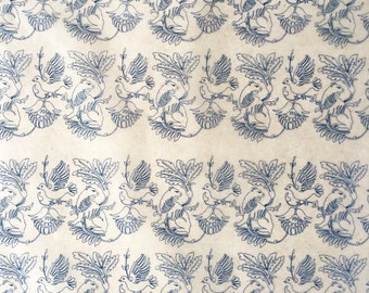 10 sheets of underglaze decal,ceramic paper,handmade,from Jingdezhen,China.
