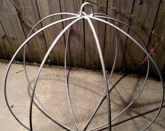Rebar garden sphere
