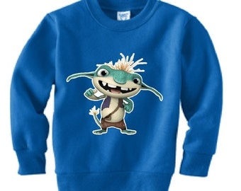 Bobgoblin Wallykazam custom sweatshirt (Colors)