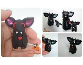Polymer Clay Bat | Kawaii Horror Collectable | MADE TO ORDER