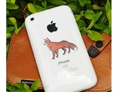 Cute Fox Sticker • Cell Phone Animal Decal • Creature Sticker • Animal Sketch • 2 Inch Sticker • Small Fox Sticker • Tiny Outdoor Sticker