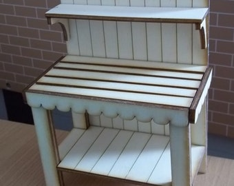 Potting Bench Kit Dolls House